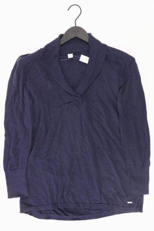 s.Oliver Feinstrickpullover Größe 38 blau aus Viskose