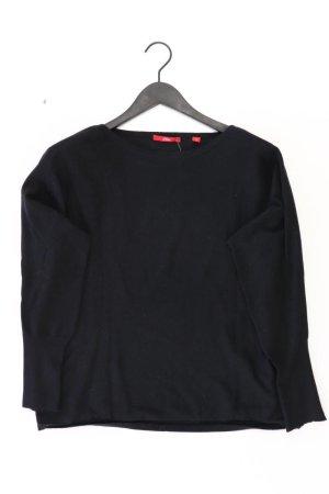 s.Oliver Feinstrickpullover Größe 42 schwarz aus Polyester