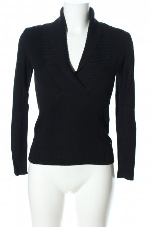 s.Oliver Fine Knitted Cardigan black casual look