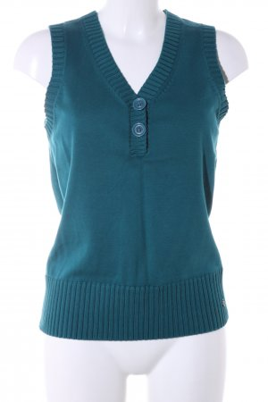 s.Oliver Fine Knitted Cardigan blue casual look