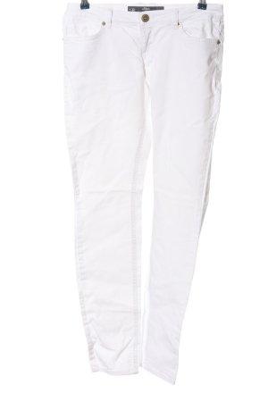 s.Oliver Pantalón de cinco bolsillos blanco look casual