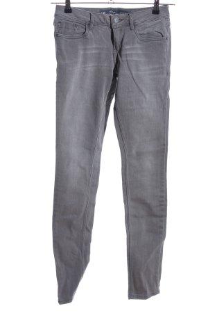 s.Oliver Pantalone cinque tasche grigio chiaro stile casual