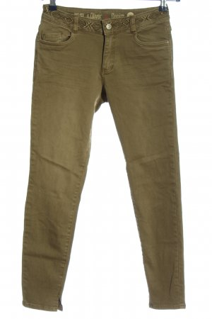 s.Oliver Five-Pocket-Hose khaki Casual-Look