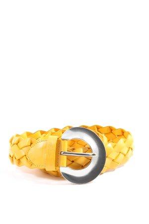 s.Oliver Cintura intrecciata giallo pallido stile casual