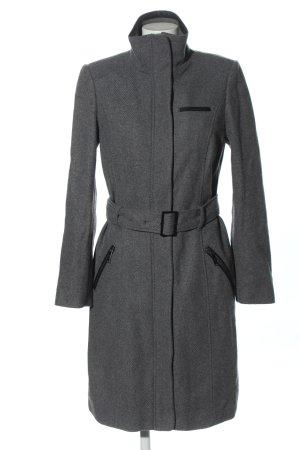 s.Oliver Fleece Coats light grey flecked casual look