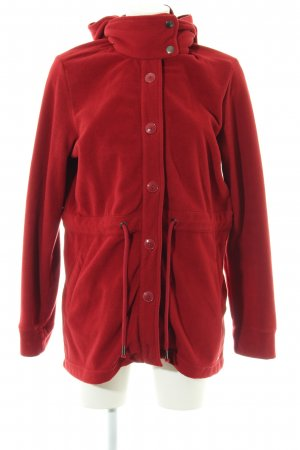 s.Oliver Fleecemantel rot Casual-Look