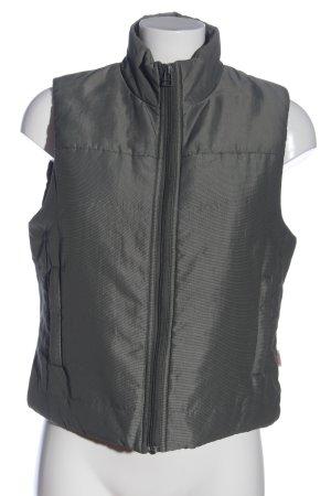 s.Oliver Fleece vest lichtgrijs casual uitstraling