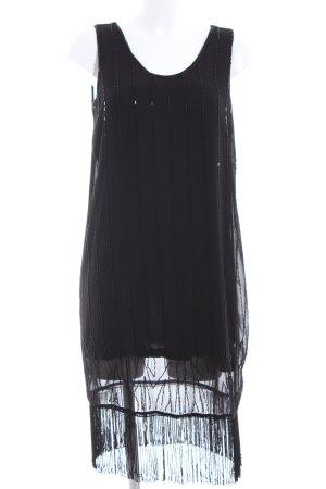 s.Oliver Jurk met franjes zwart elegant
