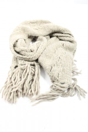 s.Oliver Fringed Scarf cream casual look