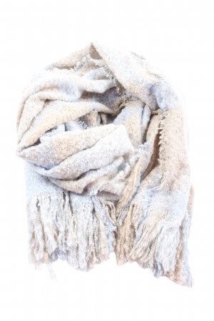 s.Oliver Fringed Scarf flecked casual look