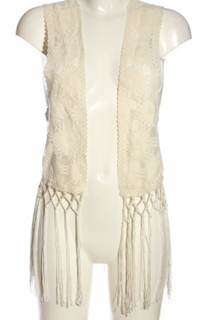 s.Oliver Fransenweste creme Casual-Look