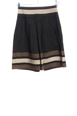 s.Oliver Rozkloszowana spódnica Wzór w paski W stylu casual