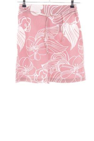 s.Oliver Glockenrock pink-weiß Blumenmuster Casual-Look
