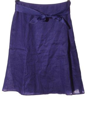 s.Oliver Rozkloszowana spódnica fiolet W stylu casual