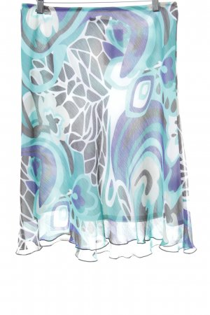 s.Oliver Godet Skirt abstract pattern casual look