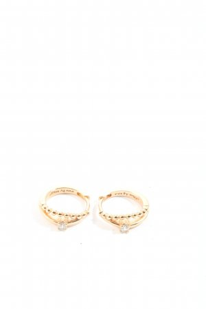 s.Oliver Gold Earring gold-colored casual look