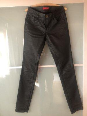 s.Oliver Drainpipe Trousers black