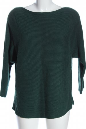 s.Oliver Grobstrickpullover grün Casual-Look