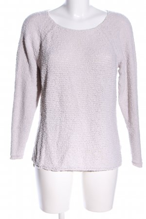 s.Oliver Grobstrickpullover wollweiß Casual-Look