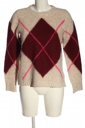 s.Oliver Grobstrickpullover Streifenmuster Casual-Look