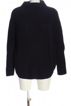 s.Oliver Grobstrickpullover blau Casual-Look