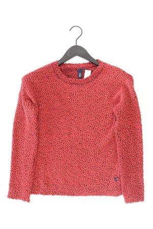 s.Oliver Grobstrickpullover Größe S rot aus Polyester