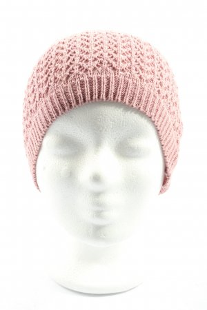 s.Oliver Crochet Cap pink casual look