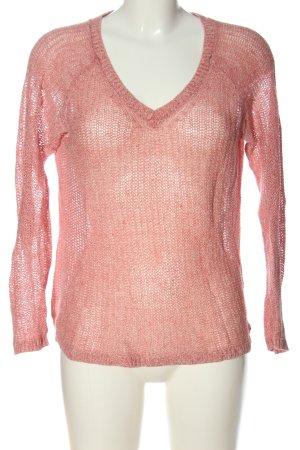 s.Oliver Szydełkowany sweter różowy W stylu casual