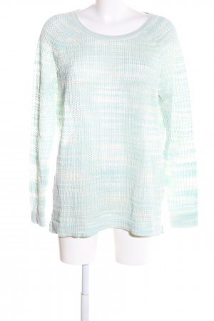 s.Oliver Crochet Sweater green-white cable stitch casual look