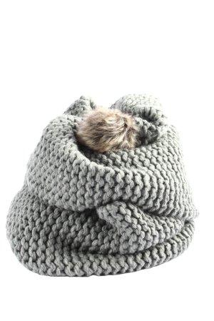 s.Oliver Écharpe en crochet gris clair style décontracté