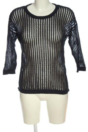 s.Oliver Gehaakt shirt zwart extravagante stijl