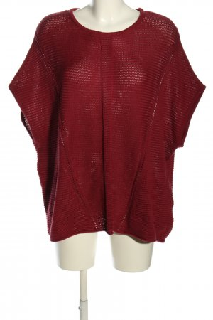 s.Oliver Crochet Shirt red casual look