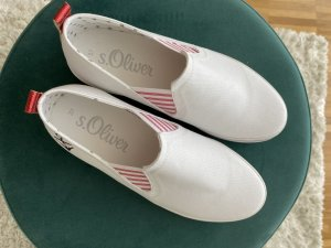Fashion hero for s.Oliver Chaussures Mary Jane blanc-rouge brique