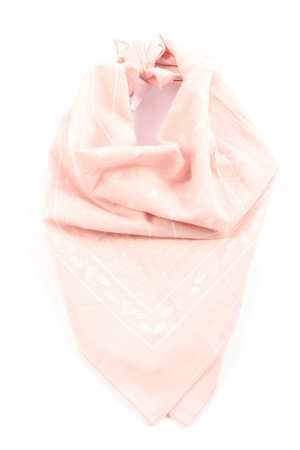 s.Oliver Neckerchief pink-natural white allover print casual look