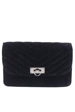 s.Oliver Handbag black quilting pattern casual look