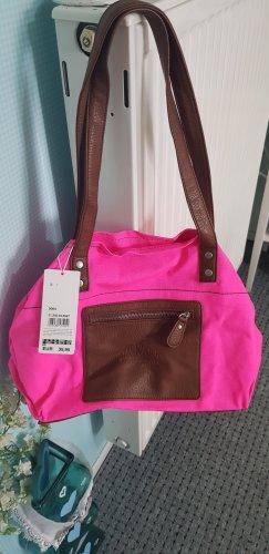 s.oliver handtasche braun pink