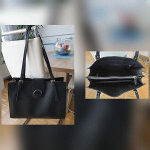 s.Oliver Handbag black mixture fibre