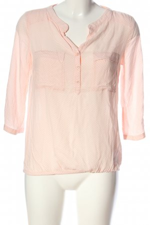 s.Oliver Hemd-Bluse pink Punktemuster Business-Look