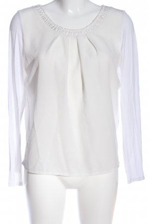 s.Oliver Hemd-Bluse weiß Business-Look