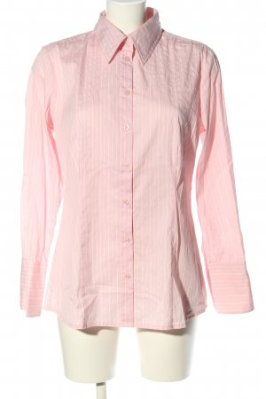 s.Oliver Hemd-Bluse pink-weiß Allover-Druck Business-Look