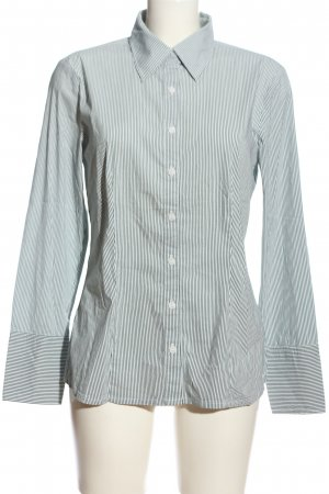 s.Oliver Hemd-Bluse hellgrau Streifenmuster Casual-Look