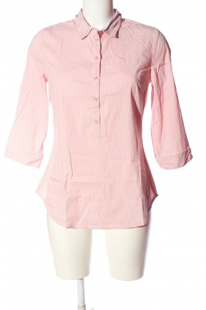 s.Oliver Hemd-Bluse pink-weiß Streifenmuster Casual-Look