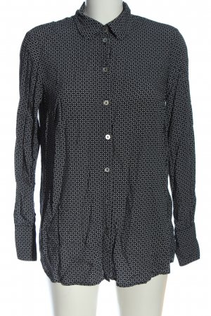 s.Oliver Shirt Blouse white-black allover print casual look