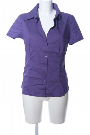 s.Oliver Hemd-Bluse lila Casual-Look