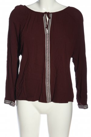 s.Oliver Hemd-Bluse rot-wollweiß Casual-Look