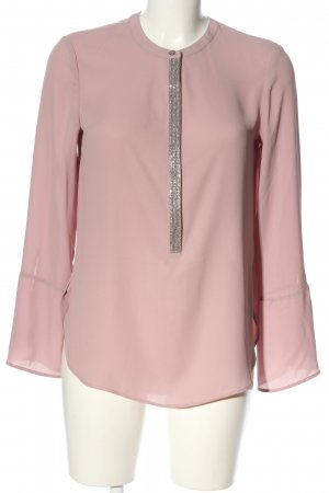 s.Oliver Hemd-Bluse pink-silberfarben Casual-Look