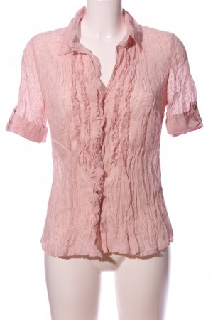 s.Oliver Hemd-Bluse pink Allover-Druck Casual-Look