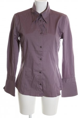 s.Oliver Hemd-Bluse lila Streifenmuster Business-Look