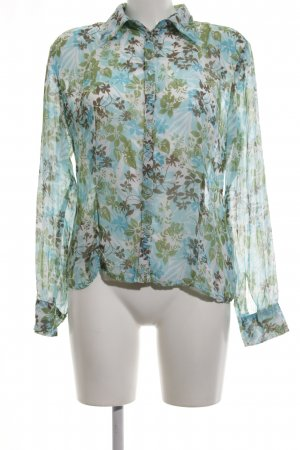 s.Oliver Hemd-Bluse Blumenmuster Casual-Look