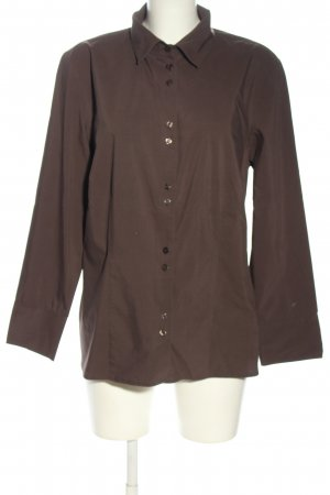 s.Oliver Hemd-Bluse braun Casual-Look
